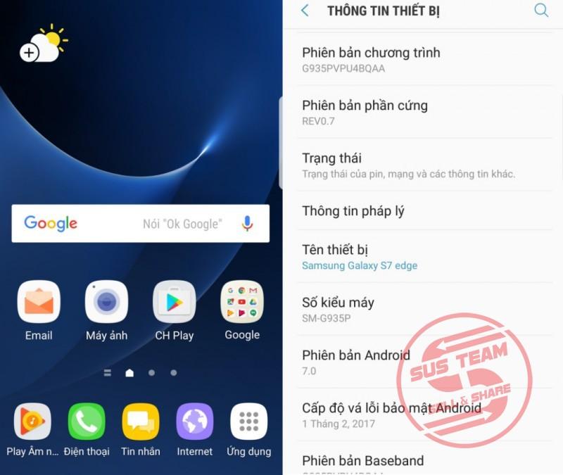 Unlock, mở mạng, nâng cấp Nougat 7.0 cho Samsung Galaxy S7 Edge (Sprint)SM-G935P