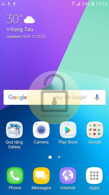 Unlock, mở mạng, root, xóa tài khoản Google FRP lock trên Samsung Galaxy J2 Prime(SM-G532G)